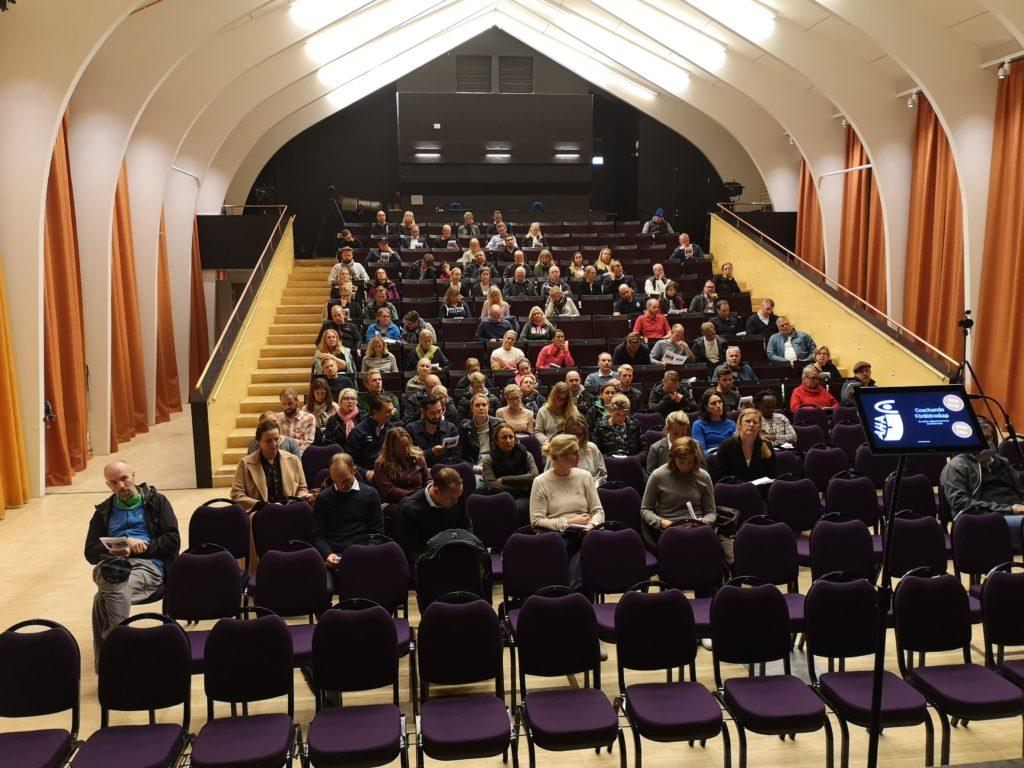 Coachande föräldraskap föreläsning på Berga teater i Åkersberga