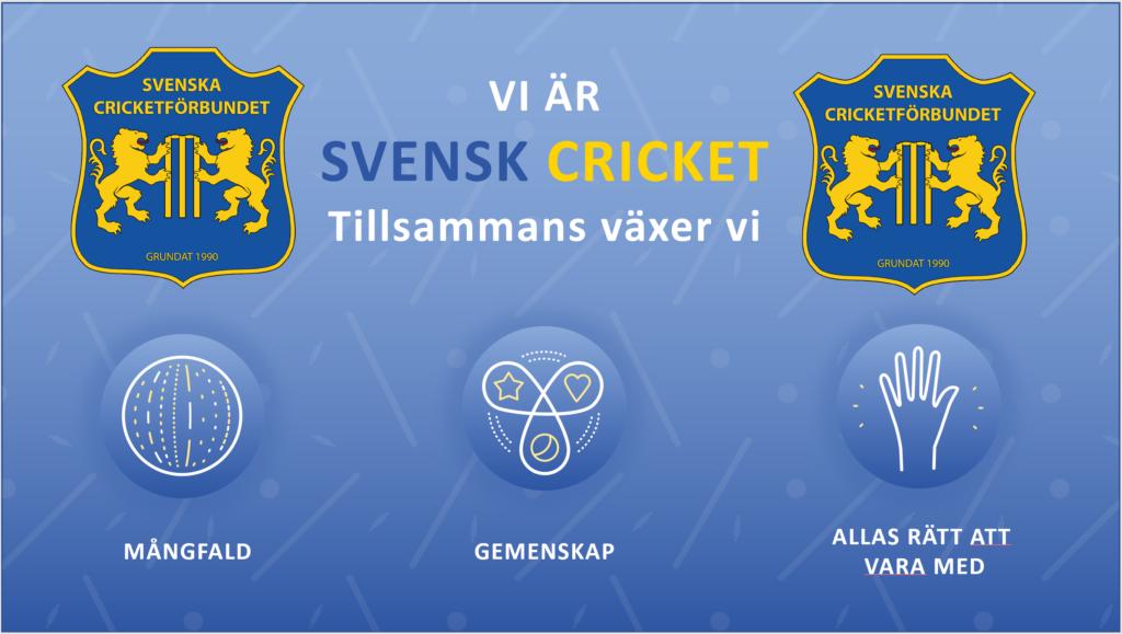 Svenska Cricketförbundet projekt Trygg Cricket